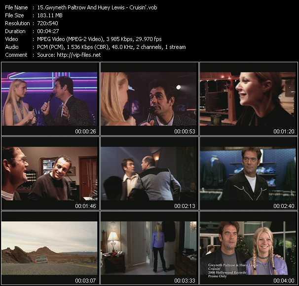 Gwyneth Paltrow And Huey Lewis video screenshot