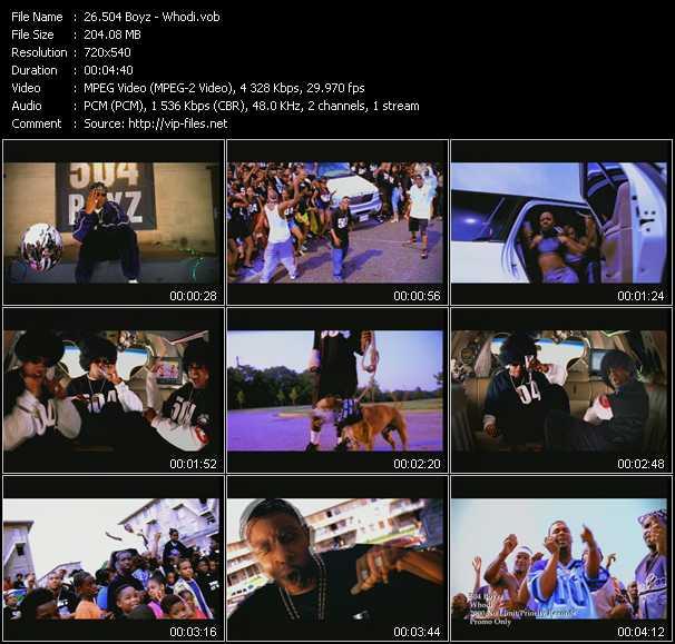 504 Boyz video screenshot