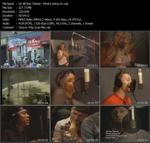 All Star Tribute video screenshot