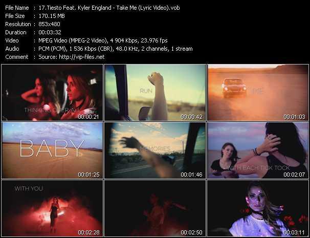 Tiesto Feat. Kyler England video screenshot