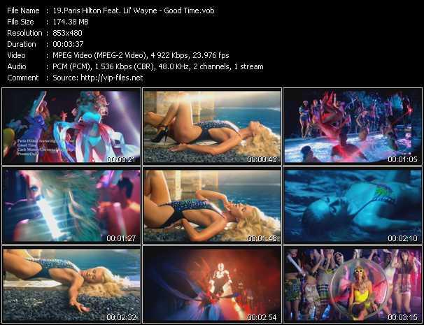 Paris Hilton Feat. Lil' Wayne video screenshot