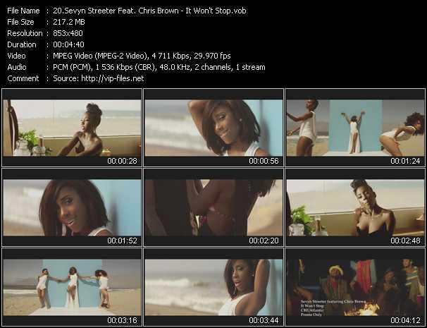 Sevyn Streeter Feat. Chris Brown video screenshot