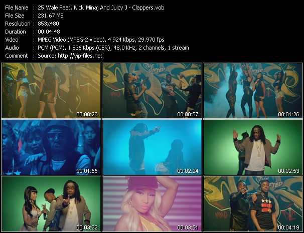 Wale Feat. Nicki Minaj And Juicy J video screenshot