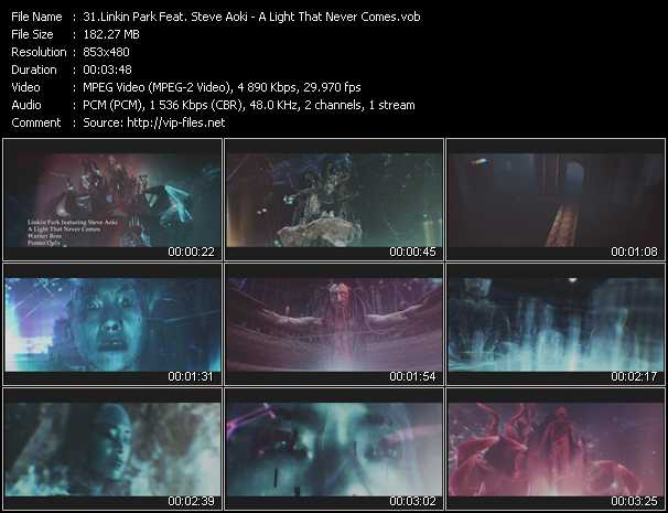 Linkin Park Feat. Steve Aoki video screenshot