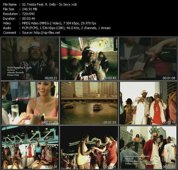 Twista Feat. R. Kelly video screenshot