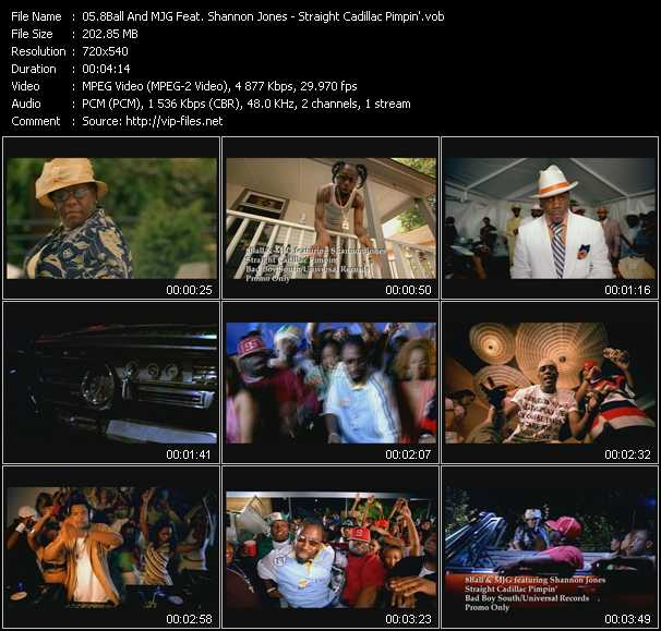8Ball (Eightball) And MJG Feat. Shannon Jones video screenshot