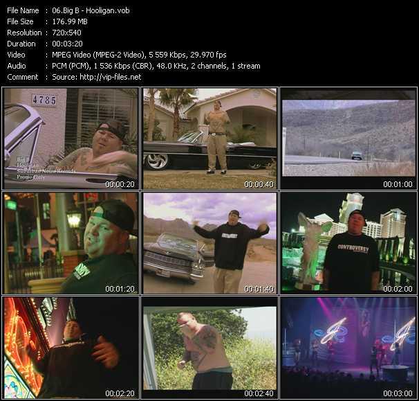 Big B video screenshot