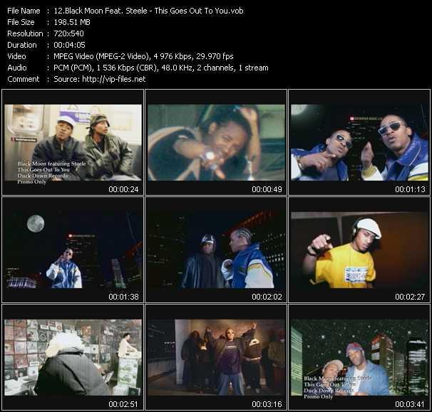 Black Moon Feat. Steele video screenshot