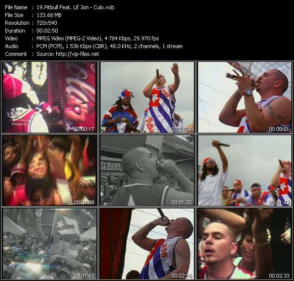 Pitbull Feat. Lil' Jon video screenshot