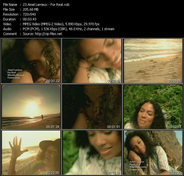 Amel Larrieux video screenshot
