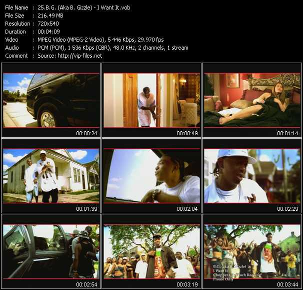 B.G. Aka B. Gizzle video screenshot
