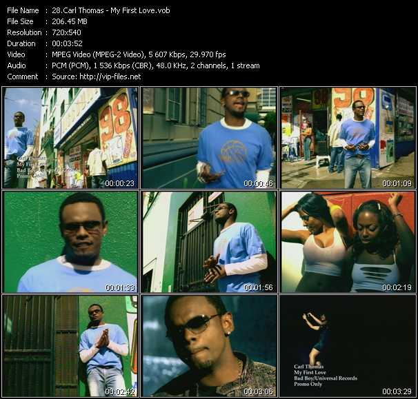 Carl Thomas video screenshot