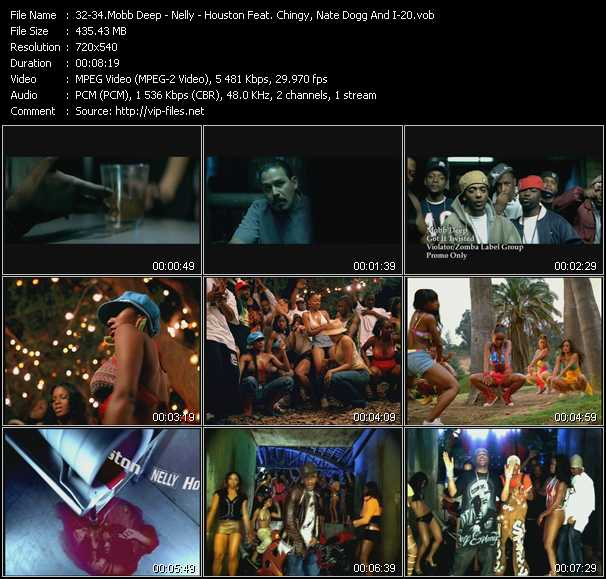 Mobb Deep - Nelly - Houston Feat. Chingy, Nate Dogg And I-20 video screenshot
