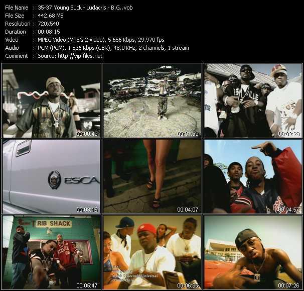 Young Buck - Ludacris - B.G. video screenshot