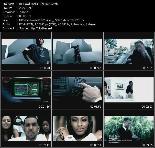 Lloyd Banks video screenshot