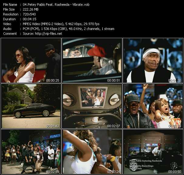 Petey Pablo Feat. Rasheeda video screenshot