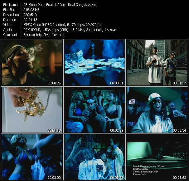 Mobb Deep Feat. Lil' Jon video screenshot