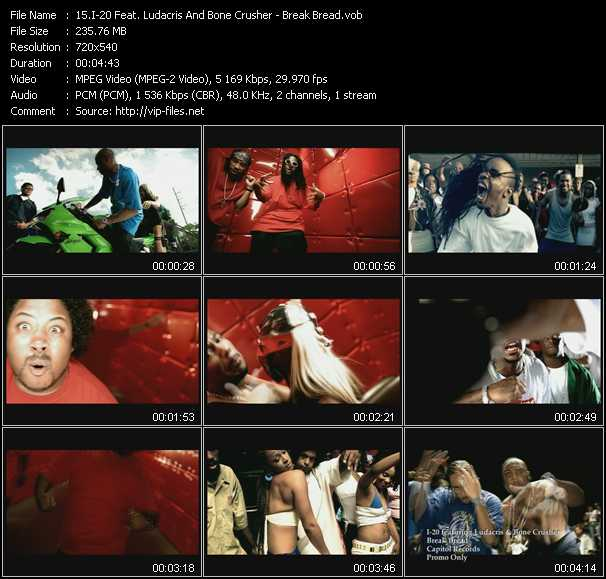 I-20 Feat. Ludacris And Bone Crusher video screenshot