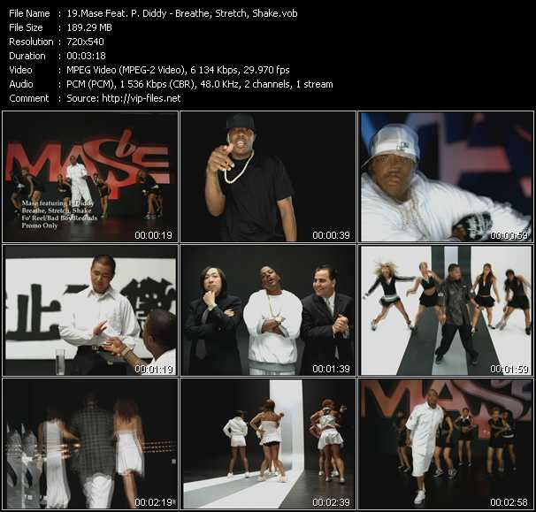 Mase Feat. P. Diddy (Puff Daddy) video screenshot