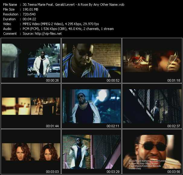 Teena Marie Feat. Gerald Levert video screenshot