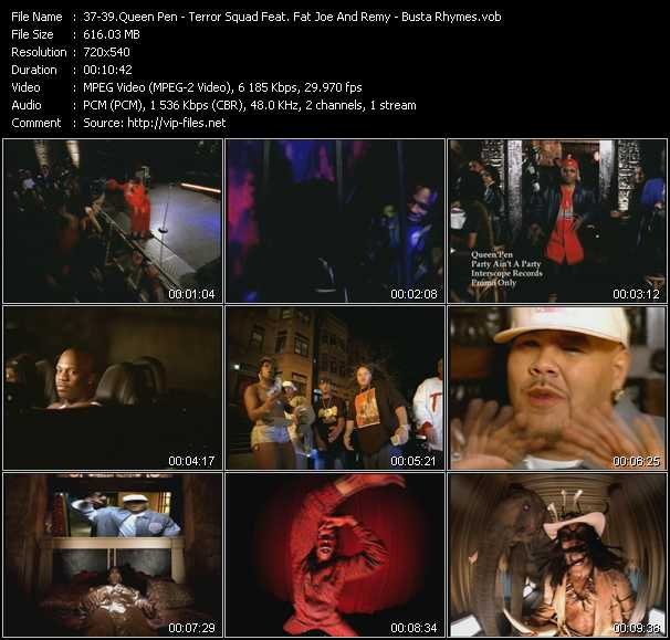 Queen Pen - Terror Squad Feat. Fat Joe And Remy - Busta Rhymes video screenshot