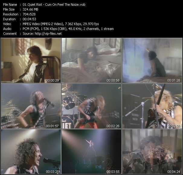 Quiet Riot video screenshot