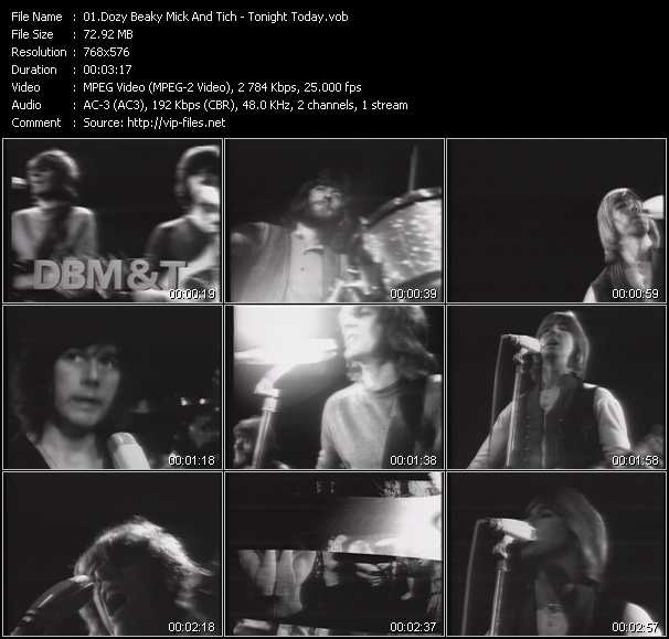 Dozy, Beaky, Mick And Tich video screenshot