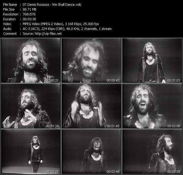 Demis Roussos video screenshot