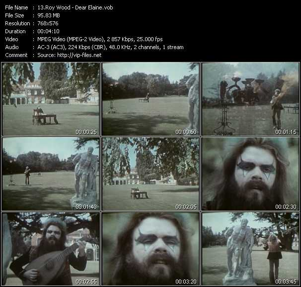 Roy Wood video screenshot
