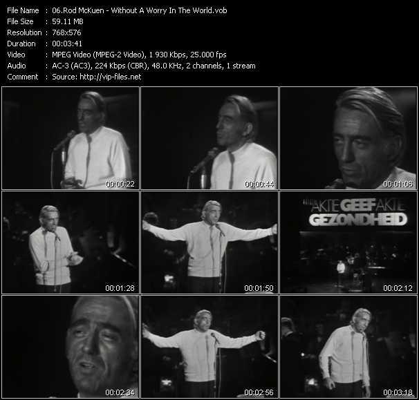 Rod McKuen video screenshot