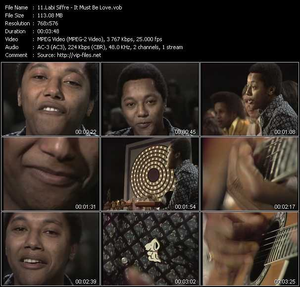 Labi Siffre video screenshot