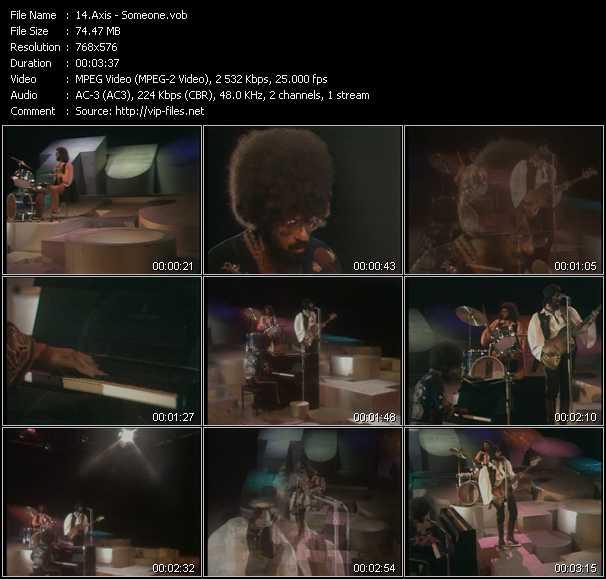 Axis video screenshot