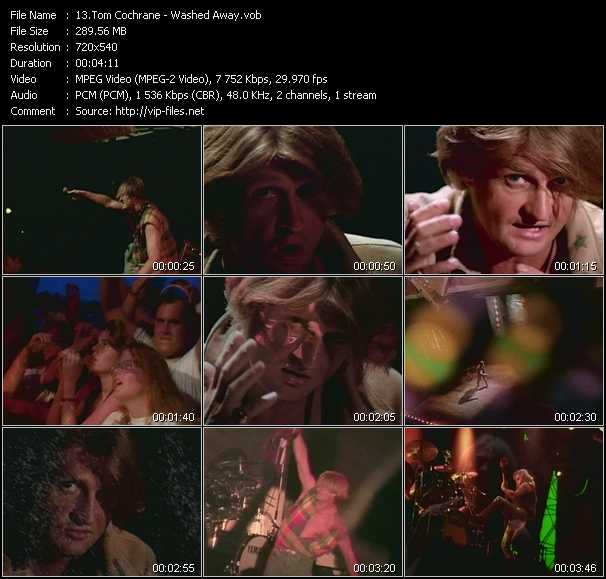 Tom Cochrane video screenshot