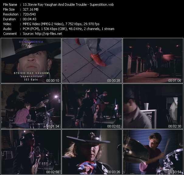 Stevie Ray Vaughan And Double Trouble video screenshot