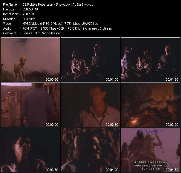 Robbie Robertson video screenshot