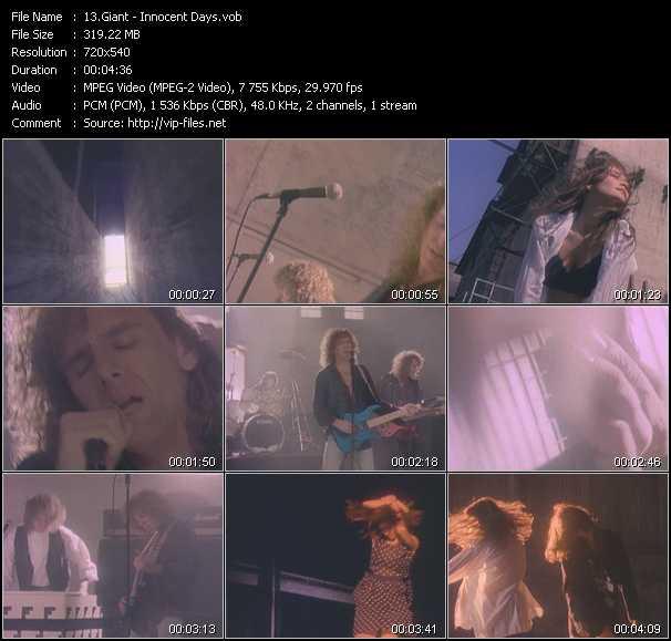 Giant video screenshot