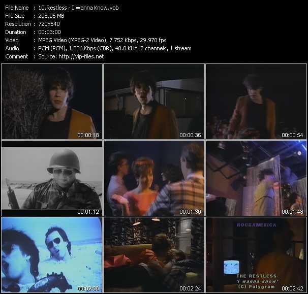 Restless video screenshot