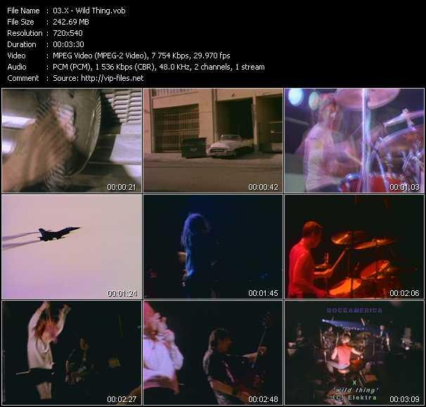 X video screenshot