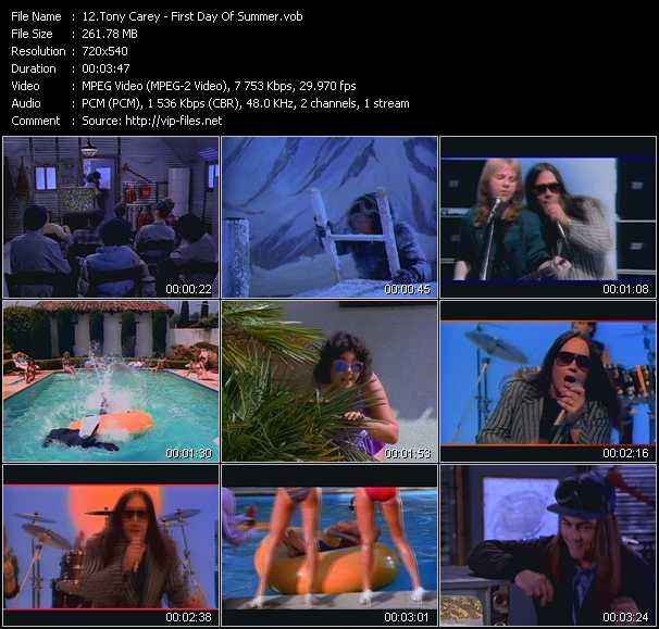 Tony Carey video screenshot