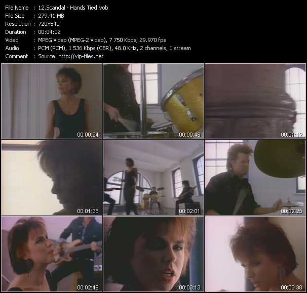 Scandal video screenshot