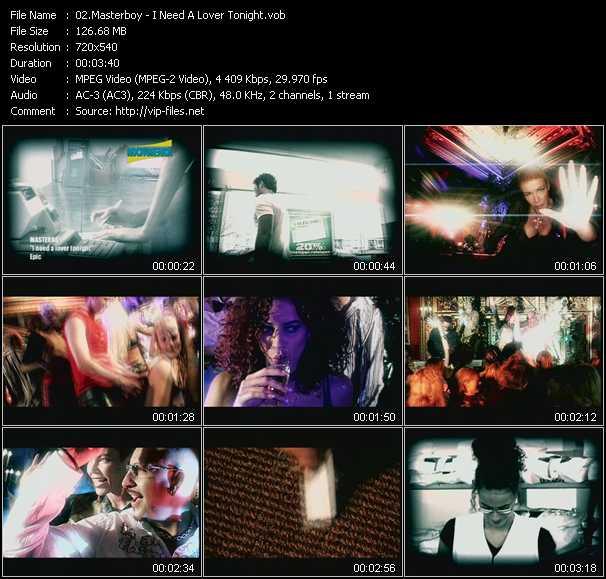 Masterboy video screenshot