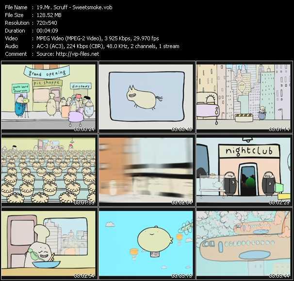 Mr. Scruff video screenshot