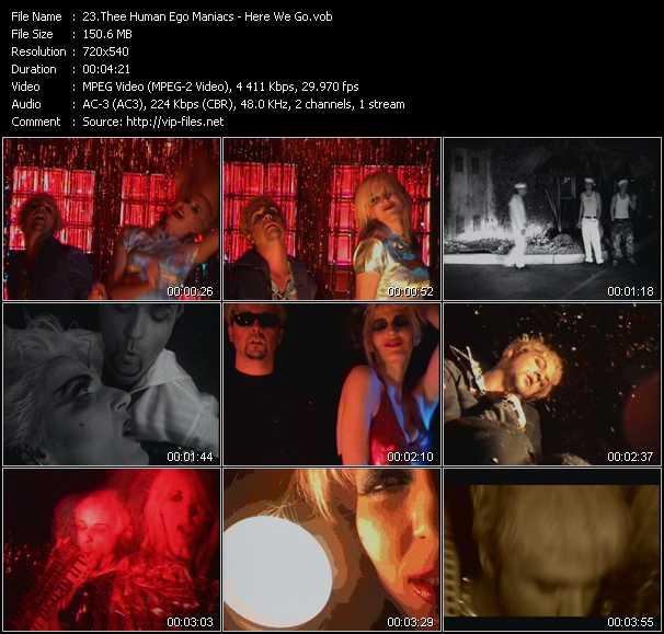 Thee Human Ego Maniacs video screenshot