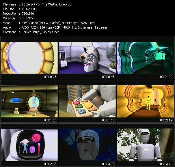 Zero 7 video screenshot
