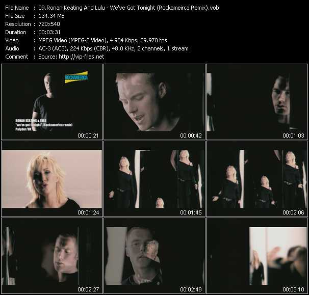Ronan Keating And Lulu video screenshot