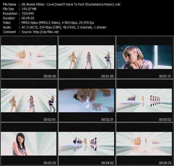 Atomic Kitten video screenshot