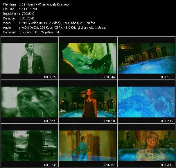 Noemi video screenshot