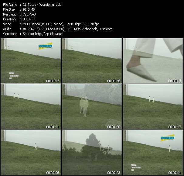 Tosca video screenshot