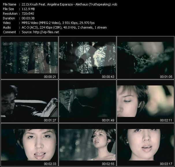 Dj Krush Feat. Angelina Esparza video screenshot