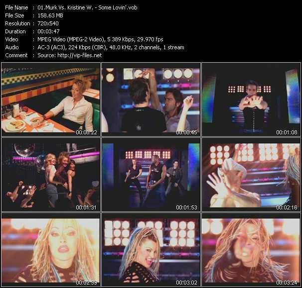 Murk Vs. Kristine W video screenshot
